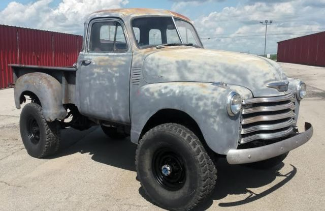 1953 chevrolet 5 window cab pickup 4x4 350 v8 automatic for 1953 chevrolet 5 window pickup for sale