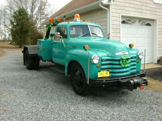 1953 Chevrolet 6500 Tow Truck, Wheel Lift, Wrecker