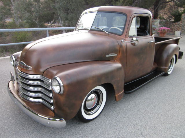1953 Chevy 3100 Pickup Deluxe 5 Window Cab All Original