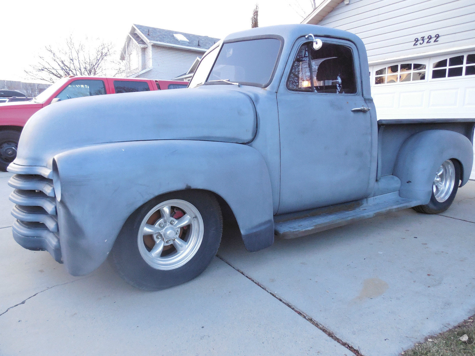 1953 Chevy Truck Not Gmc 5 Window But Could Be A Shop 1949 Paint Colors Patina Bagged