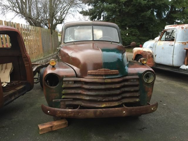 1953 chevy truck short bed 1947 1948 1949 1950 1951 1952 rat rod 53 Chevy 3100 Rat Rod