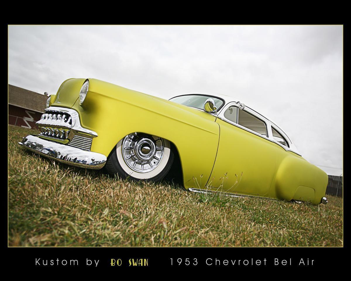1953 Chopped Chevy Kustom Sled Hot Rod Not A Ratrod Rat Or Merc 1951 Cadillac 1954