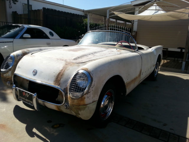 1953 Corvette 54 55 Late Chassis 61 62 Project