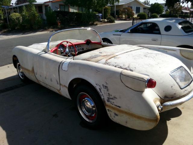 Chevrolet Greensboro 1953 Corvette 54 55 (Late chassis - 61 62) Project