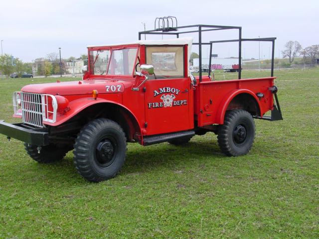 1953 Dodge M37 Dodge Power Wagon Military