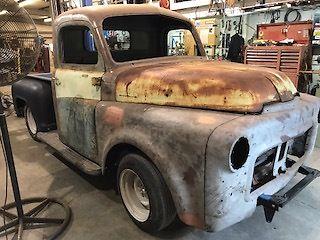 Dodge Dart Turbo >> 1953 Dodge Pickup custom build project