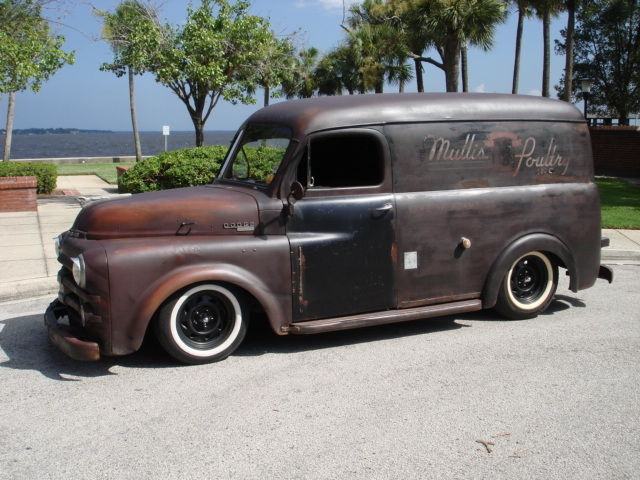 1953 DODGE TRUCK PANEL WAGON RATROD HOTROD RAT ROD PATINA