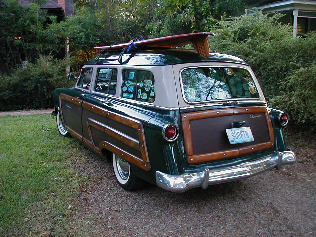 1953 ford custom woody wagon surf station wagon woodie. Black Bedroom Furniture Sets. Home Design Ideas