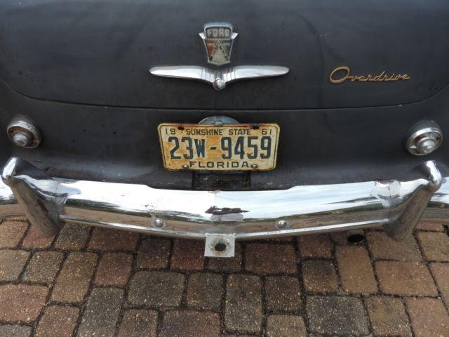 1953 Ford Customline 4 Door Sedan Manual Transmission Manual Guide