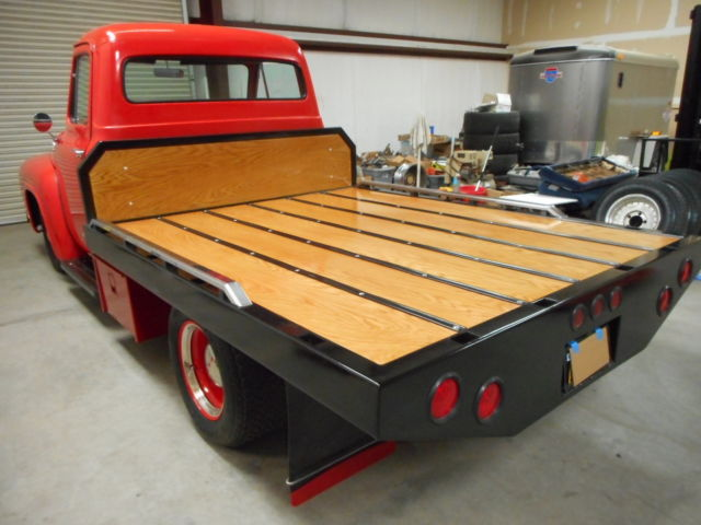 1953 ford f 100 custom flatbed 1975 Ford Dually Flatbed