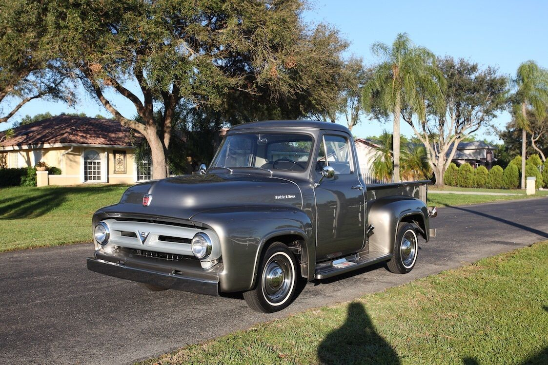 1953 ford f100 truck frame off restoration. Black Bedroom Furniture Sets. Home Design Ideas