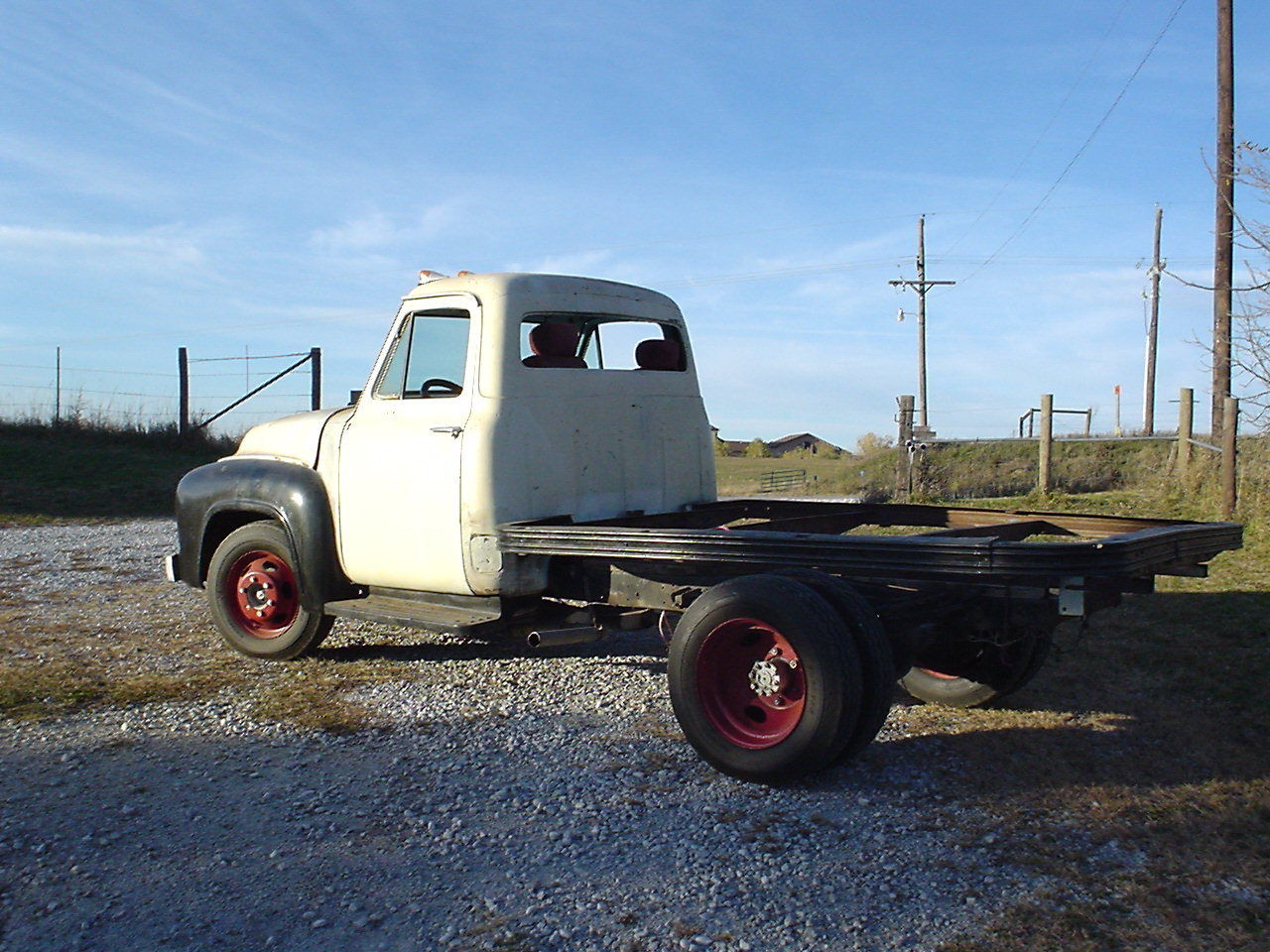 1953 ford f3 flatbed unrestored modified running plenty of character 1948 Ford Flatbed