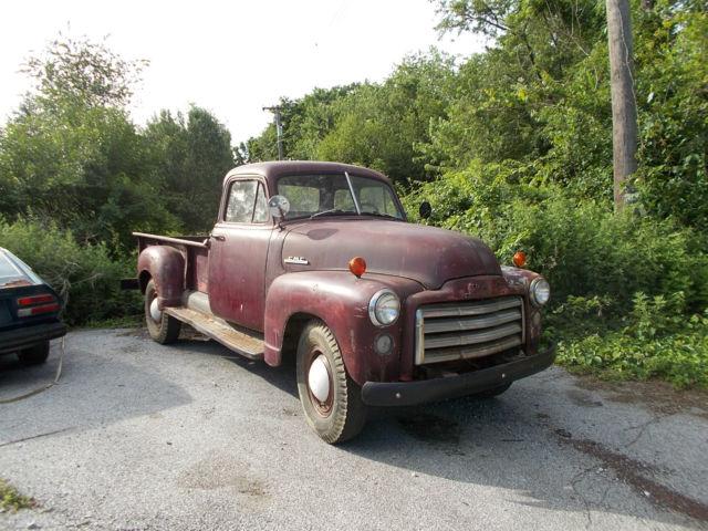1953 gmc 5 window one ton pickup for 1953 gmc 5 window