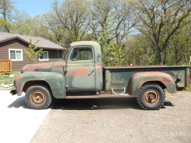 1953 international r120 truck 5 window rare runs 1953 International Pickup R120 4x4
