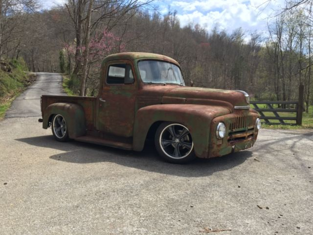 1953 International Rat Rod Shop Truck Dodge Dakota Chassis