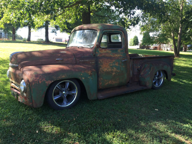 1953 international rat rod shop truck dodge dakota chassis. Black Bedroom Furniture Sets. Home Design Ideas