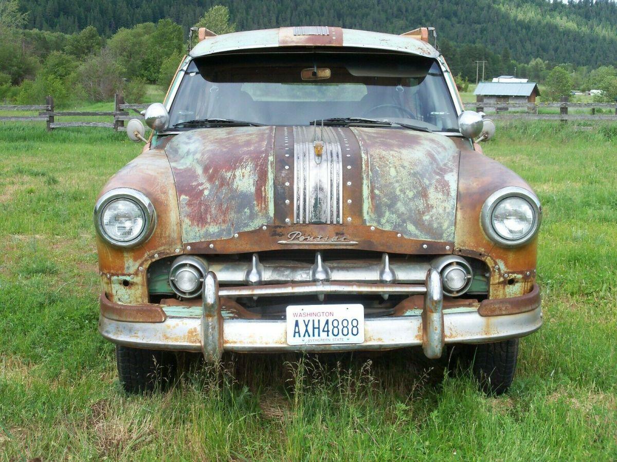 1953 Pontiac Woody Wagon