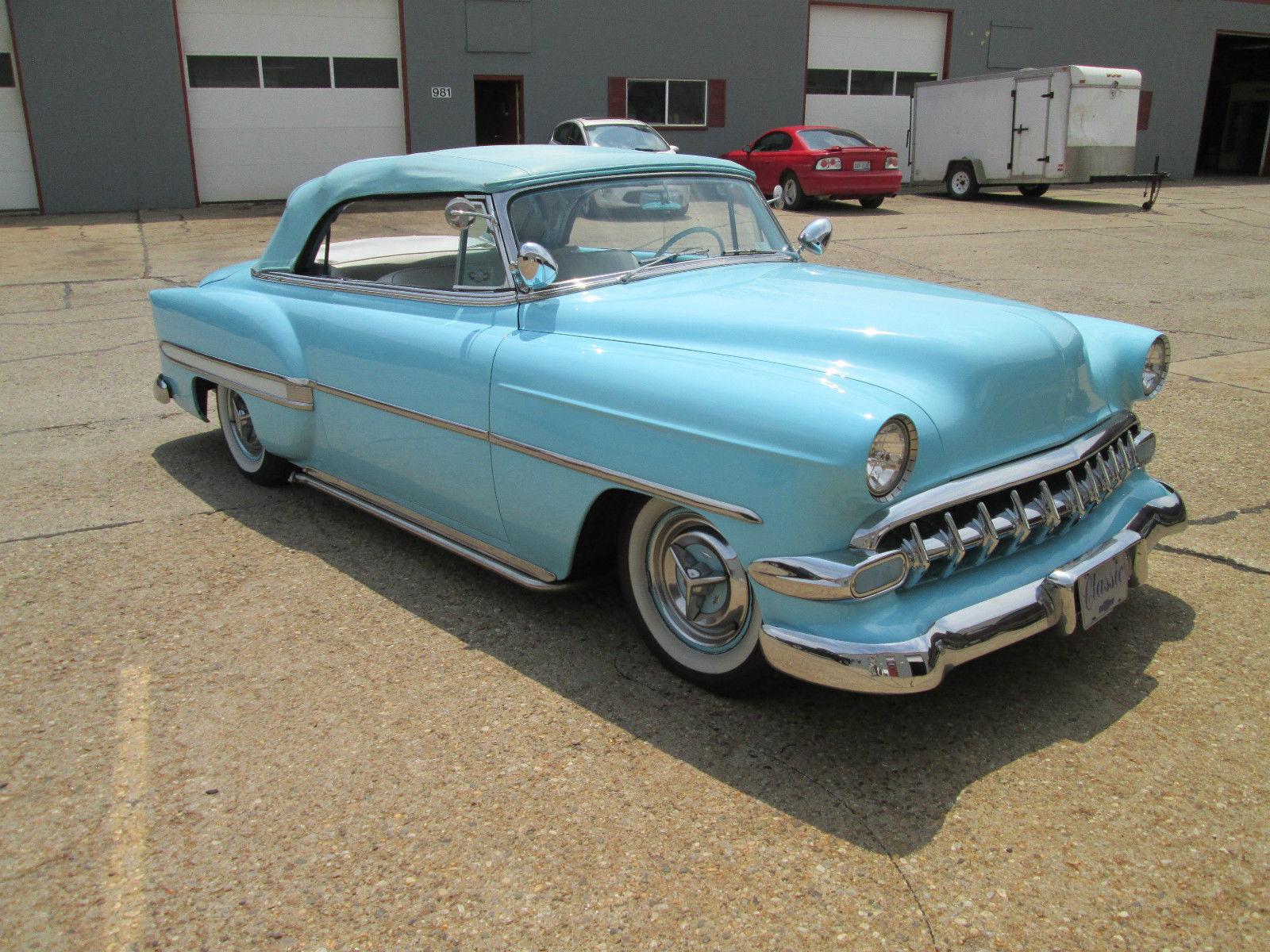 1954 Chevrolet Belair Custom Convertible Bel Air