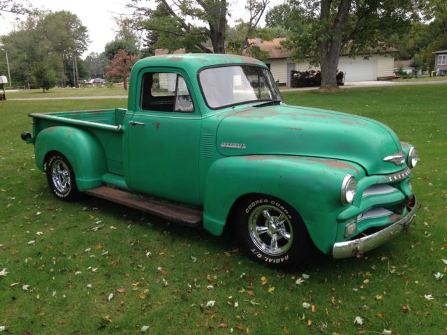 1954 Chevrolet Truck 3100 Standard Cab Pickup 2 Door Chevy