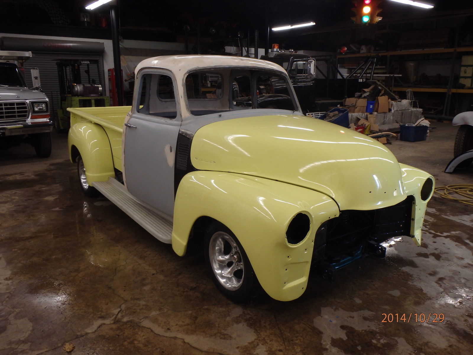 1954 Chevy 5 Window Project Truck With Many Parts Included Pickup
