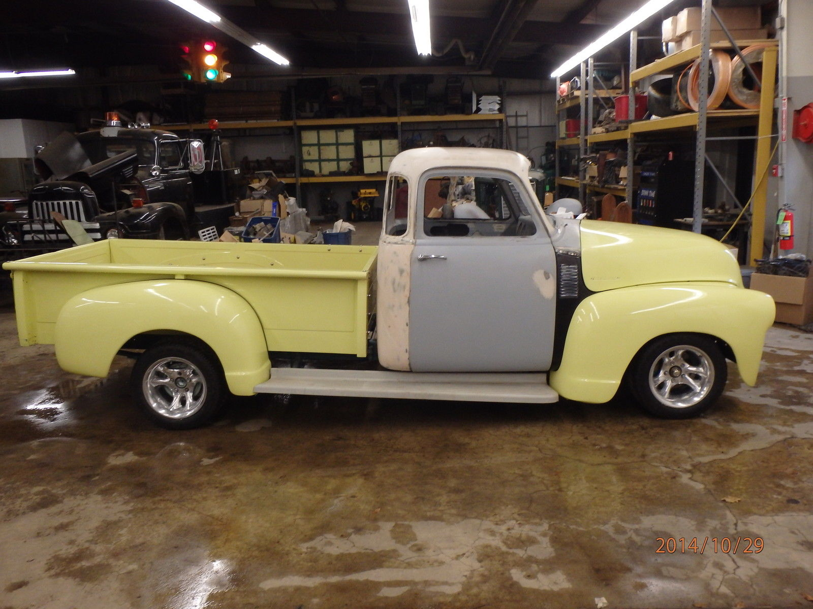 1954 Chevy 5 Window Project Truck With Many Parts Included 1949 Pickup