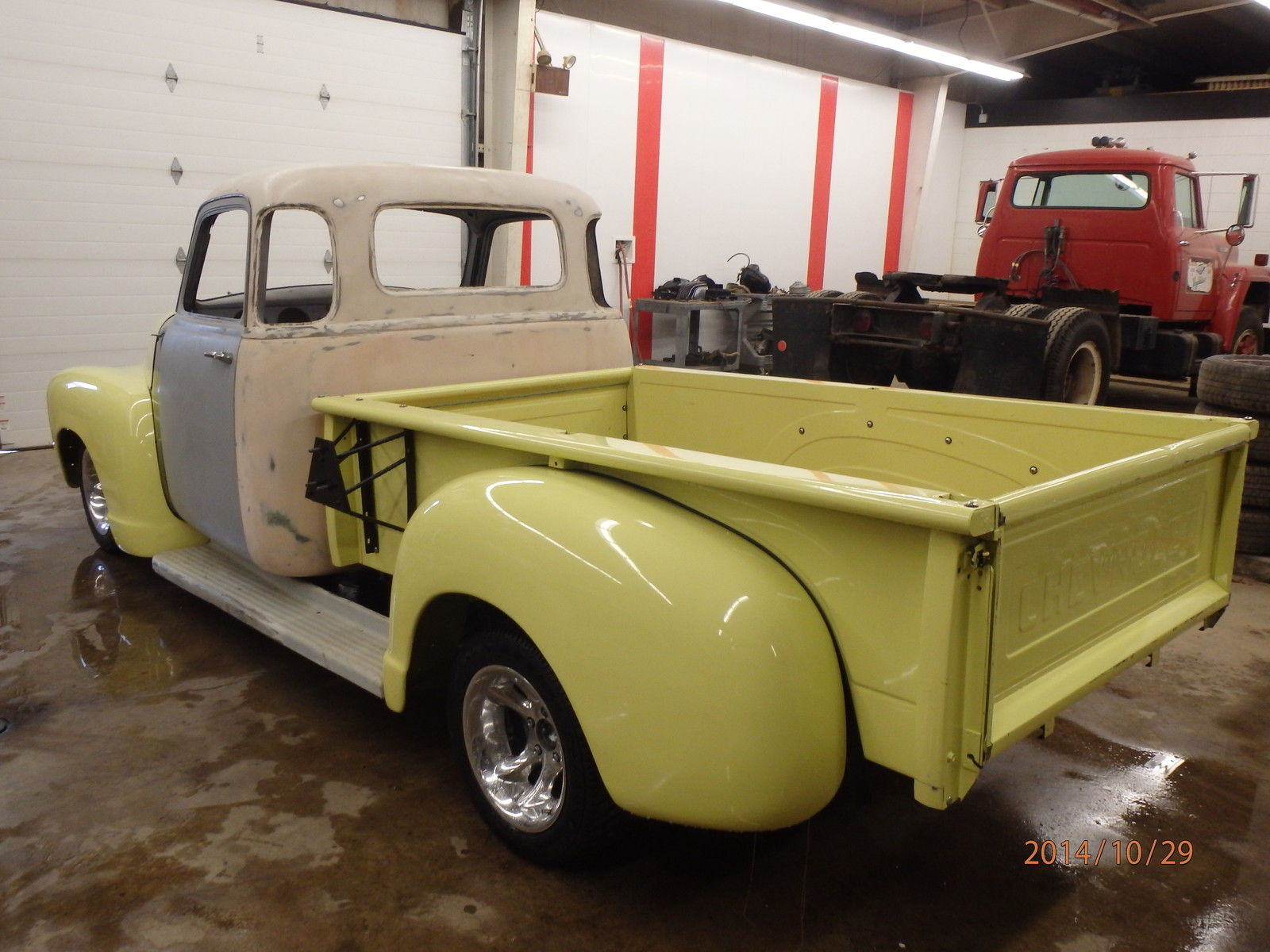 1954 Chevy 5 Window Project Truck With Many Parts Included 1949 Gas Tank