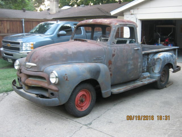 1954 chevy 5 window truck for sale in autos post. Black Bedroom Furniture Sets. Home Design Ideas