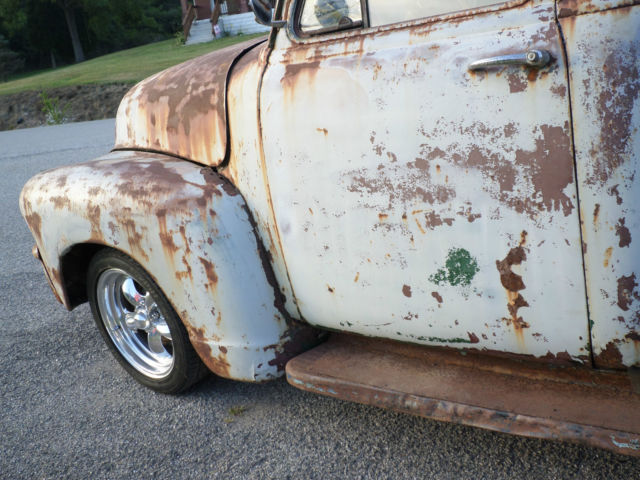 1954 CHEVY GMC TRUCK RAT ROD LOWRIDER LOWERED PROJECT PARTS CAR ...