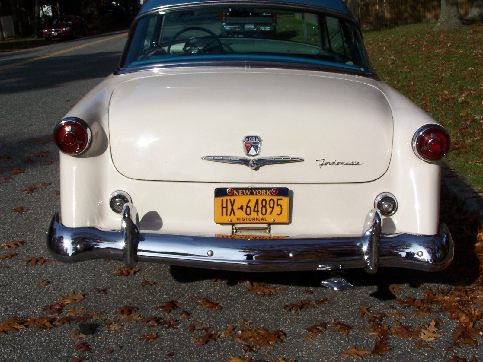 1954 Ford Crestline Skyliner Victoria Glass Top 239 V8 Fordomatic O Matic Automatic Transmission Power Steering Brakes And A Beautiful Car