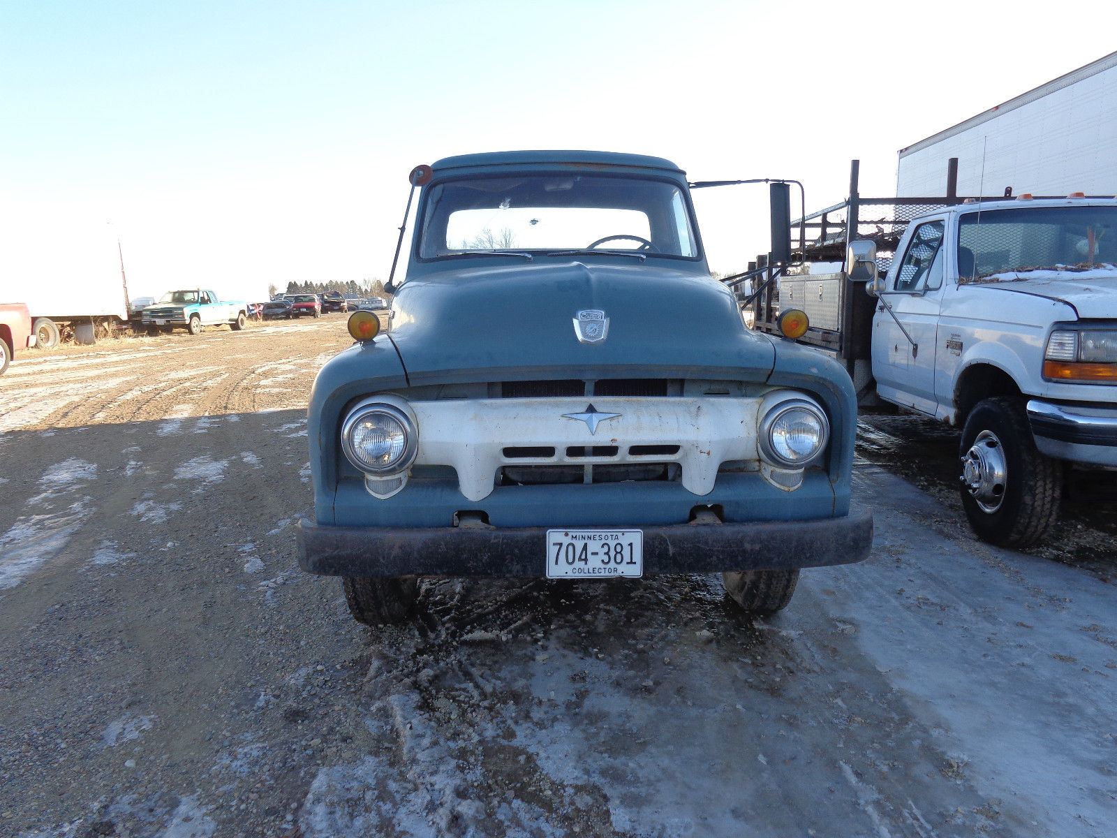 1954 Ford F 500 2 Ton Flatbed Truck Vintage Clean Commercial F100 4x4 Barn Find For Sale In Annandale Minnesota United States