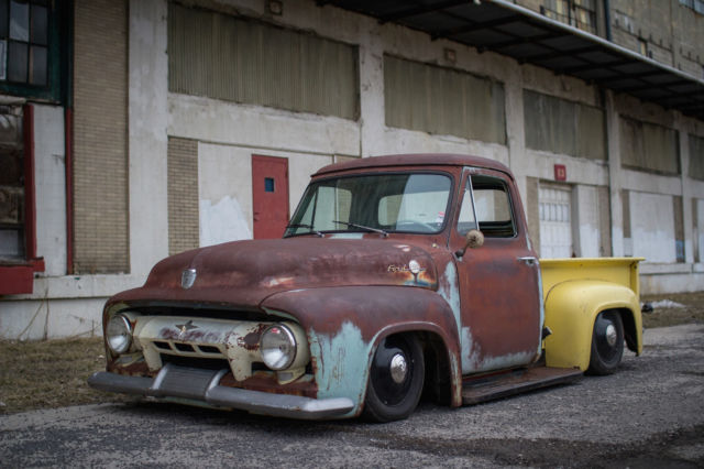 T56 Transmission For Sale >> 1954 Ford F100 Pick up, Bagged, Patina,