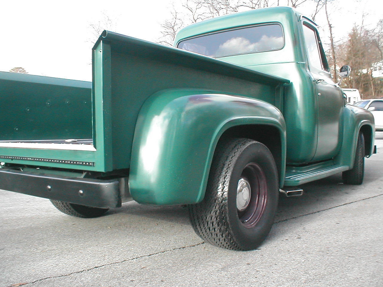 1954 Ford F100 V8 Shop Truck Patina Or Resto Mod Well Done Driver Pickup Sale
