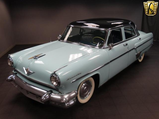 1954 Lincoln Capri 81451 Miles Baby Blue Sedan 317 CID V8 3