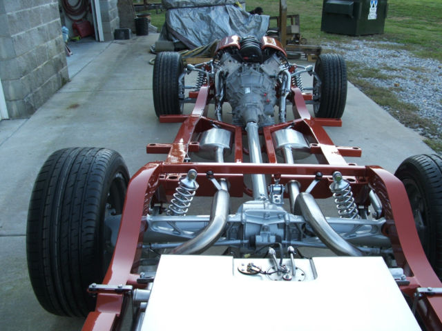 Chevy Truck Specs >> 1955 1956 1957 chevy chassis/frame /c4 corvette suspension