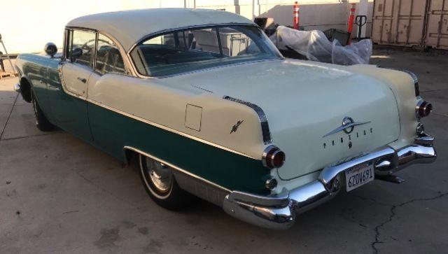 1955 2 door pontiac chieftain hardtop for 1955 pontiac chieftain 4 door