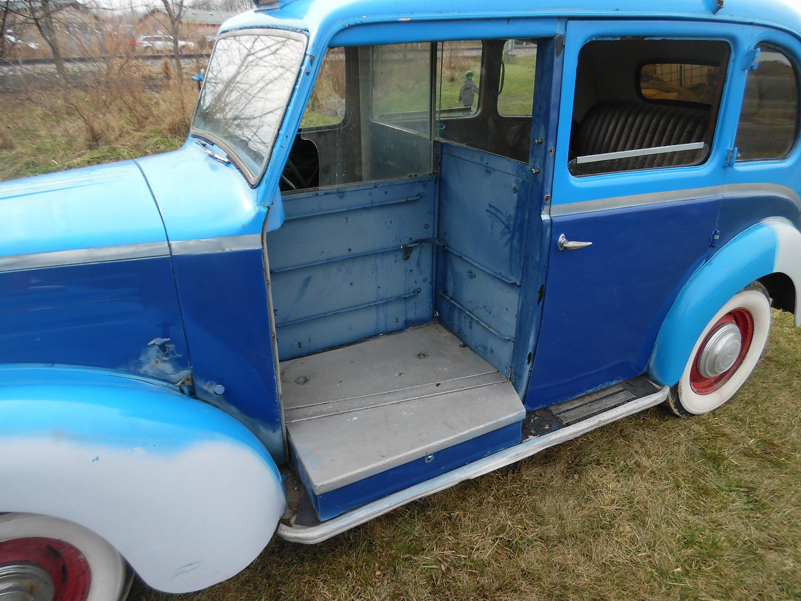 1955 austin fx3 london taxi cab running project vintage rare collector promotion. Black Bedroom Furniture Sets. Home Design Ideas