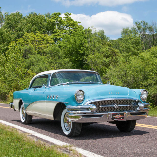 1954 Buick Roadmaster For Sale 1865222: 1955 Buick Roadmaster Rivera 2-DR Hardtop Coupe, AZ Car