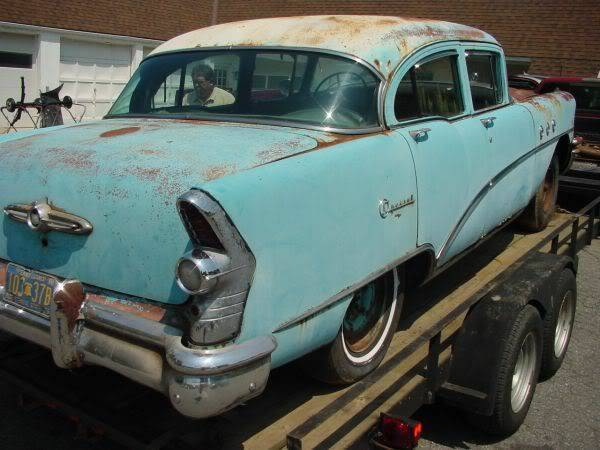 1955 buick special four door nailhead new chrome for 1955 buick special 4 door for sale