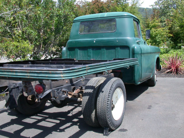 1955 Chevrolet 2nd Series 1 Ton Flat Bed Truck For Sale In
