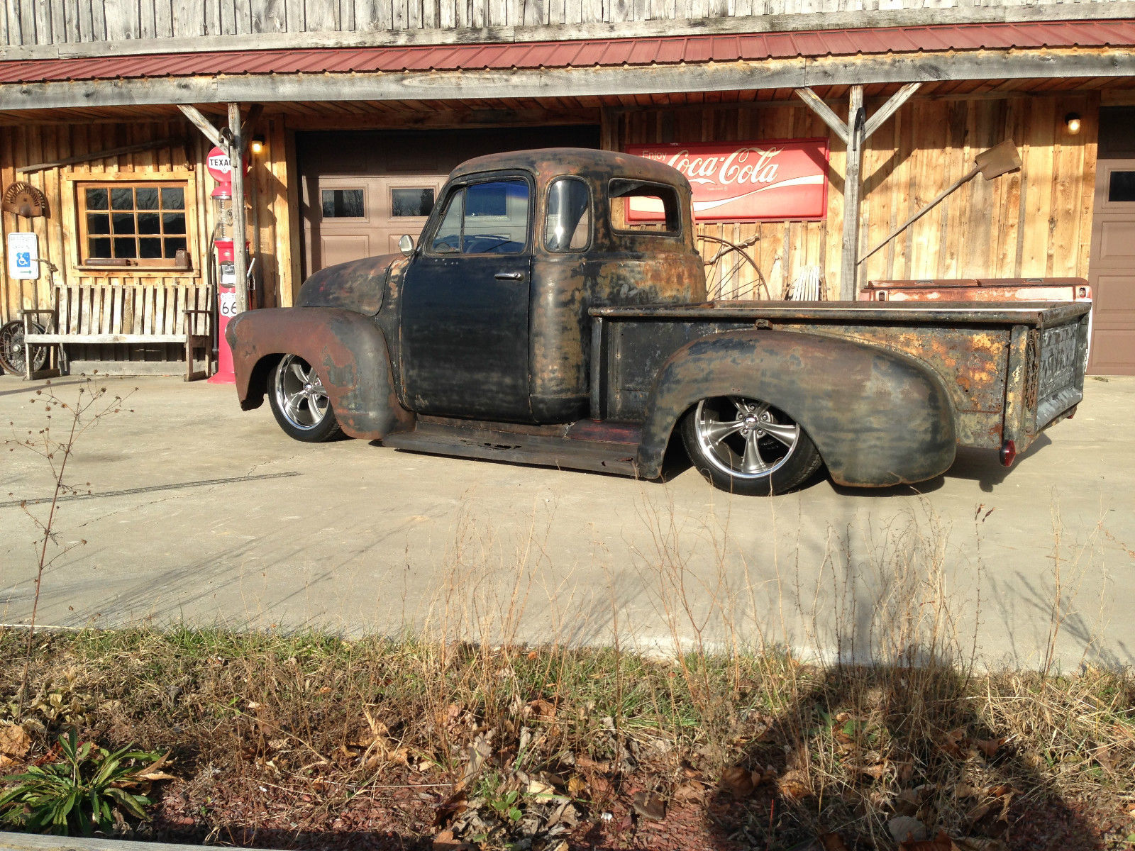 1955 Chevrolet 5 Win Ratrod Shop Truck Custom Lowrider 1947 48 49 50 Ford F100 51 52 53 54