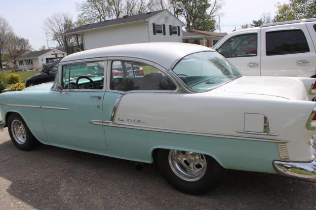 1955 chevrolet bel air 2 door post sedan for 1955 chevy belair 2 door post for sale