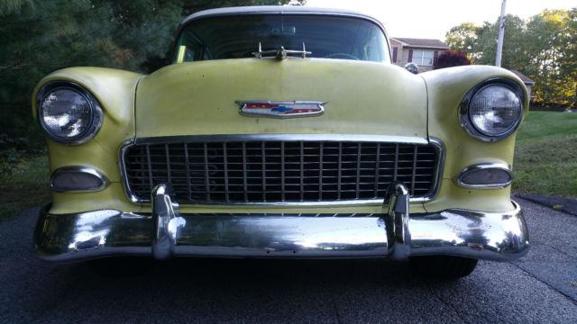 1955 chevrolet bel air 2 door post very original classic for 1955 chevy bel air door panels