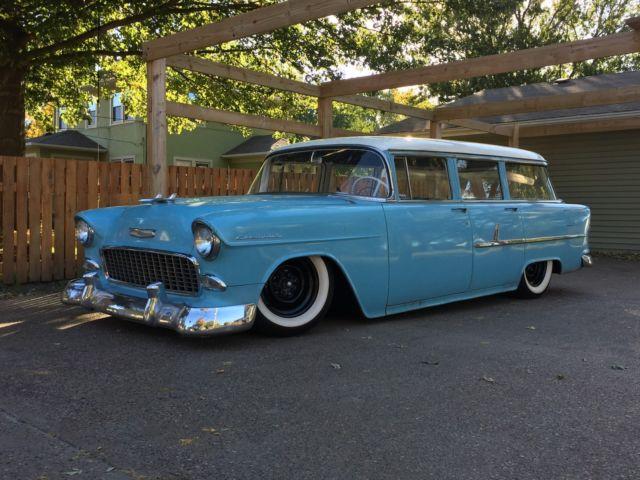 1955 chevrolet bel air base wagon 4 door for sale in for 1955 chevy 4 door for sale