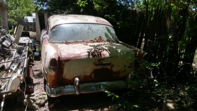 1955 Chevrolet BelAir 2 door sedan post 55 Chevy BARN FIND one owner since 1969 for sale in ...