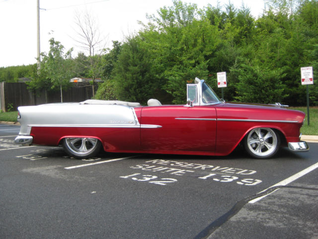1955 Chevrolet Belair Convertible Custom