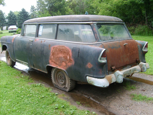 1955 chevrolet chevy two ten 2 door handyman station wagon for 1955 chevy 4 door wagon
