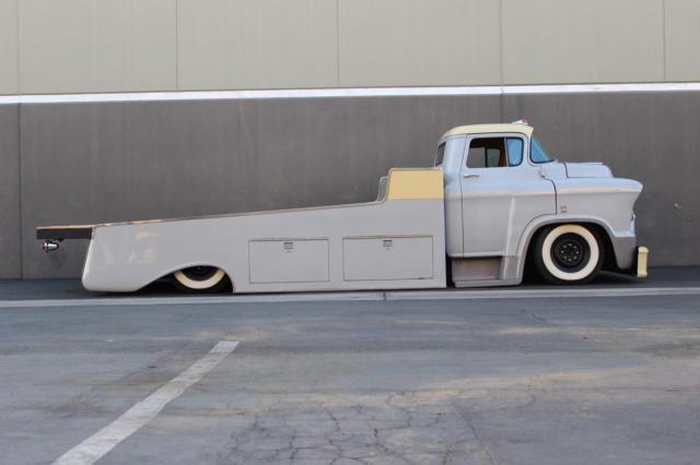 1955 Chevrolet Lcf Coe Truck Light Hauler Duramax Diesel