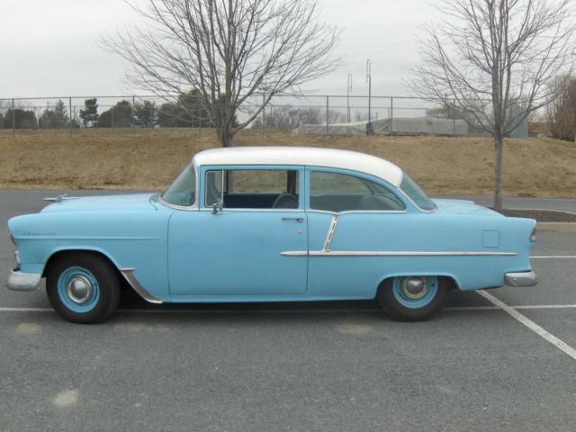 1955 chevrolet model 210 delray 2 door sedan for 1955 chevy 2 door sedan