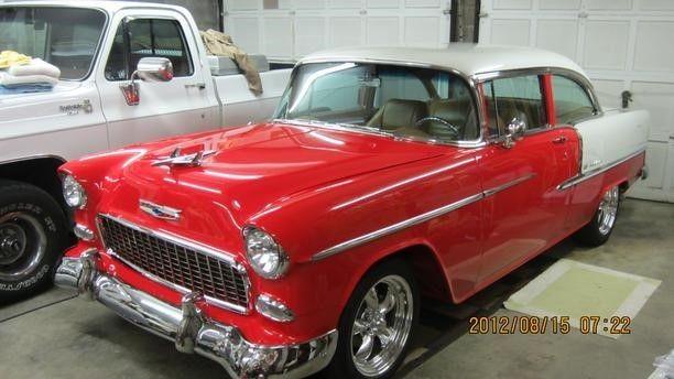 1955 chevy 2 door sedan bel air w post 502c i 502 hp for 1955 chevy 2 door sedan