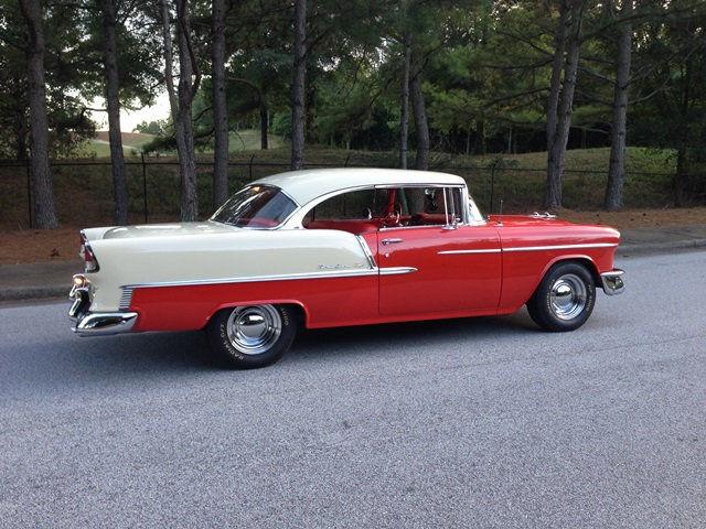 1955 chevy bel air 2 door hardtop sport coupe 350ci th400 for 1955 chevy belair 2 door hardtop for sale